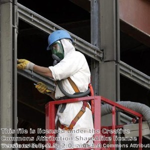 Respiratory protection needed for asbestos removal