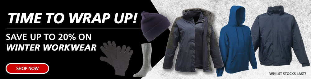Save Up To 20% On Winter Workwear