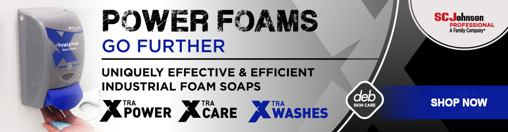 Save 10% on All DEB Power Foam Soaps