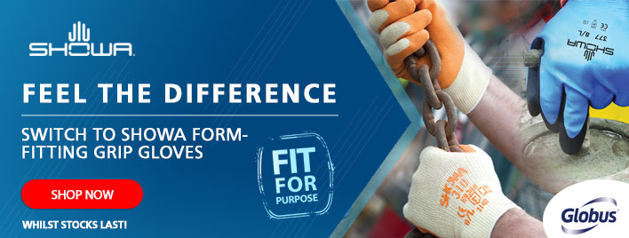 Feel the Difference - Switch to SHOWA Form-Fitting Grip Gloves