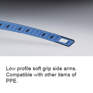 Soft grip side arms