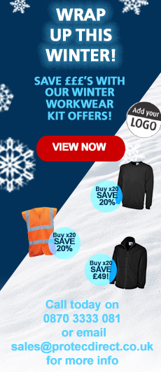 Wrap Up This Winter! Save £££'s with our Winter Workwear Kit Offers!