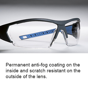 Permanent anti-fog coating