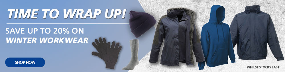 Save Up To 20% Off Winter Workwear
