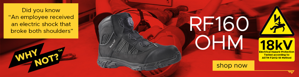 Protect Yourself With Up To 15% OFF Electrical Hazard Safety Footwear