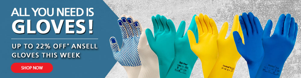 Shop Now - Up To 22% Off Ansell Gloves!