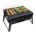 Portable Charcoal Stainless Steel Barbecue Grill