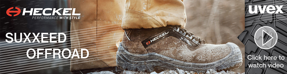 Take A Look At The Heckel Suxxeed Off Road Safety Boots