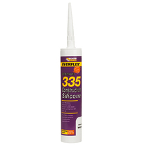 Everflex 335 Construction Silicone - Clear 310ml