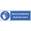 Hand Protection (Self Adhesive Vinyl,600 X 200mm)