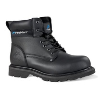 Pro Man PM9401A Goodyear Welted Black Safety Boot - S1P HRO SRA