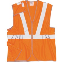 Hi-Vis Orange Rail Track Vest