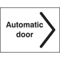 Automatic Door Right (Self Adhesive Vinyl,200 X 150mm)