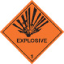 Explosive Diamond (Self Adhesive Vinyl,100 X 100mm)