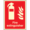 Fire Extinguisher (photo. Self Adhesive Vinyl,400 X 300mm)