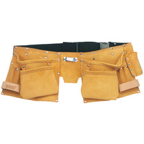 Double Leather Tool Pouch & Belt