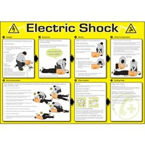 Electric Shock Poster 594x420mm