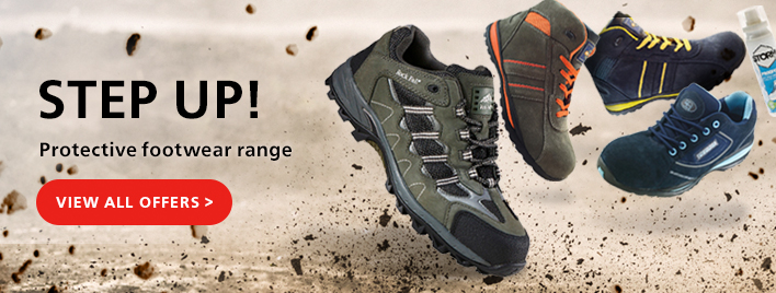 Step up! Grab your chance to save on Protective Rock Fall Trainers!