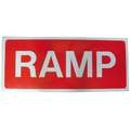 Ramp Sign - 1050mm x 450mm