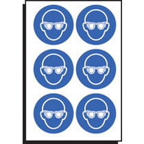 Eye Protection Symbol Sht Of 6 100mm Dia