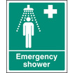 Emergency Shower (Rigid Plastic,300 X 250mm)