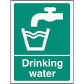 Drinking Water (Self Adhesive Vinyl,200 X 150mm)
