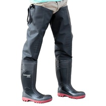 Dunlop Acifort Ribbed Full Safety Thigh Waders - S5