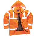 Hi-Vis Orange Rail Track Jacket