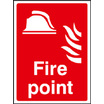 Fire Point (photo. Self Adhesive Vinyl,200 X 150mm)