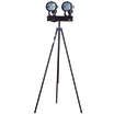 Twin Head Halogen - Swing Leg Tripod