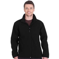 UC612 Black Classic Softshell Jacket