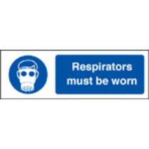 Respirators (Self Adhesive Vinyl,300 X 100mm)