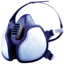 3M 4277 Valved Reusable Half Face Mask