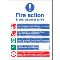 Fire Action (photo. Rigid Plastic,200 X 150mm)