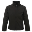 Regatta TRA681 Classic 3 Layer Softshell Jacket - Black