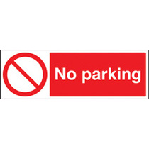 No Parking (Rigid Plastic,300 X 100mm) (13218G)