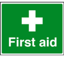 First Aid (Self Adhesive Vinyl,300 X 250mm)
