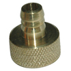 Brass U Nipple 1 Inch Air Gauge