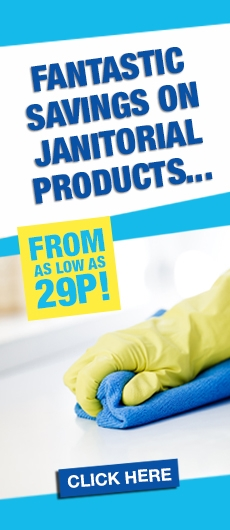 Janitorial Products from 29p!