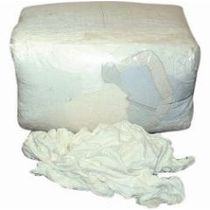 Pure White Cotton Rag 10kg