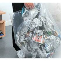 NA2939BS LPDE Clear Refuse Sacks Medium Duty