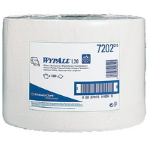 7202 Wypall L20 Surface Wipes Roll White 1000 Sheet