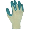 GLO110 Builders Grip Latex Coated Green Gloves