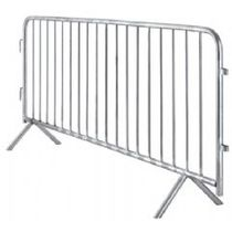 Galvanised Steel Crowd Barrier
