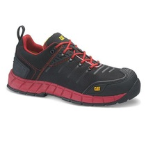 Caterpillar Byway Composite Toe Safety Trainer Red/Black - S1P HRO SRC
