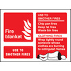 Fire Blanket (Rigid Plastic,100 X 150mm)
