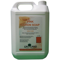 5L Pink Lotion Soap