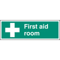 First Aid Room (Rigid Plastic,300 X 100mm)