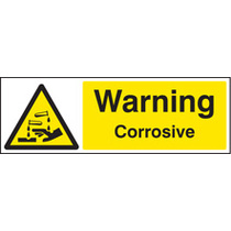 Corrosive (Self Adhesive Vinyl,300 X 100mm)