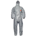 Tychem 6000F + (PLUS) Chemical Coverall Grey